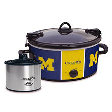 Crock-Pot NCAA Cook and Carry Slow Cooker, 6 Qt. (Michigan Wolverines)