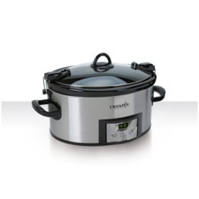Crock-Pot Programmable Cook & Carry 7 Quart Slow Cooker