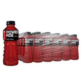 Powerade Fruit Punch Sports Drink (20 oz. bottles, 24 ct.)