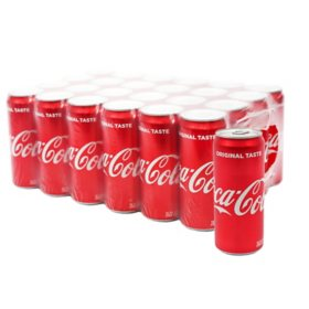Coca Cola (12 oz. cans, 24 pk.)
