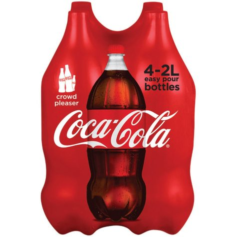 Coke Classic (2L bottles, 4 pk.)