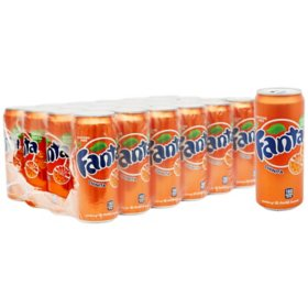 Fanta Orange (12oz / 24pk)