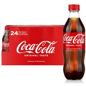 Coca-Cola (16.9 fl. oz. bottle, 24 pk.)