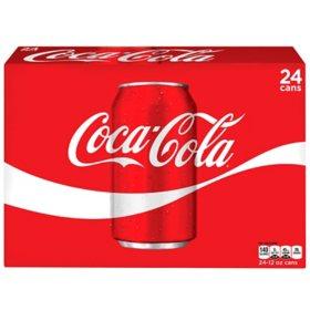 Coca-Cola (12 fl. oz. cans, 24 pk.)