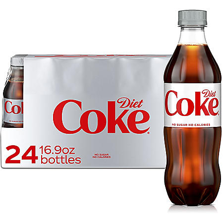 Diet Coke (16.9oz / 24pk)