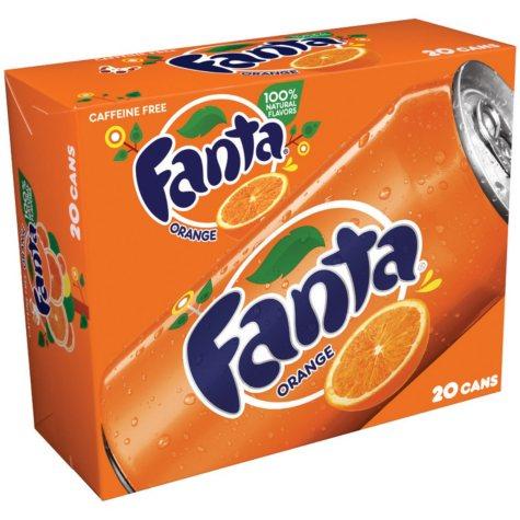 Fanta Orange (12 oz. cans, 20 pk.)