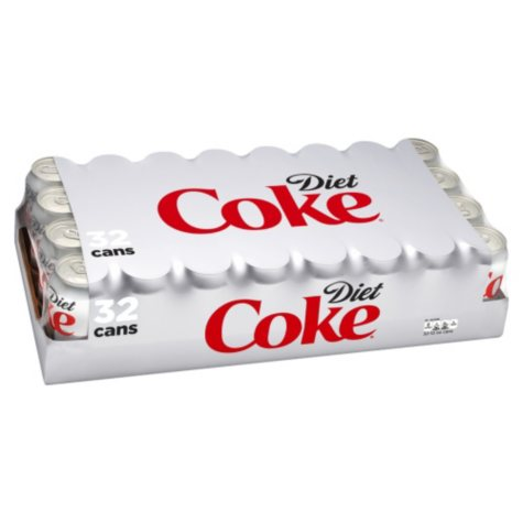 Diet Coke (12 oz. cans, 32 pk.)