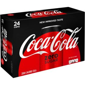 Coca-Cola Zero Sugar (12oz / 24pk)