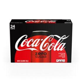 Coca-Cola Zero Sugar (12 oz. cans / 24 pk)