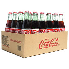 Coca Cola de Mexico (500ML glass bottles, 24 pk.)