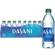 Dasani Bottled Water (16.9 oz. PET bottles, 32 pk.)