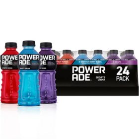 Powerade Sports Drink Variety Pack (20 fl. oz. bottles, 24 pk.)