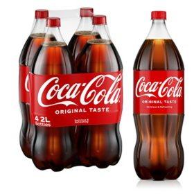 Coca-Cola (2 L bottles, 4 pk.)