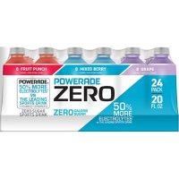Powerade Zero Sports Drink Variety Pack (20oz / 24pk)
