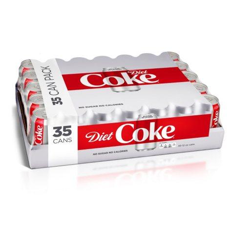 Diet Coke (12 oz. cans, 35 pk.)