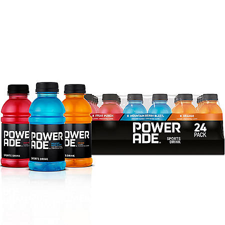 Powerade Sports Drink Variety Pack (12oz / 24pk)