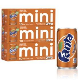 Fanta Orange Mini Cans (7.5oz / 30pk)