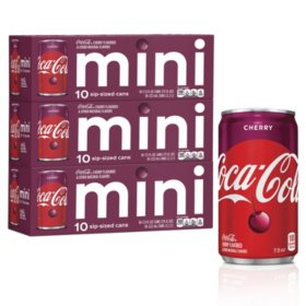Cherry Coke Mini Cans (7.5oz / 30pk)