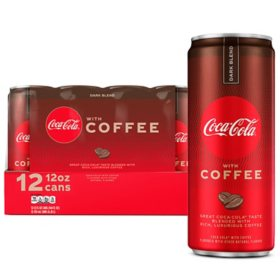 Coca-Cola with Coffee Dark Blend (12 fl. oz., 12 pk.)