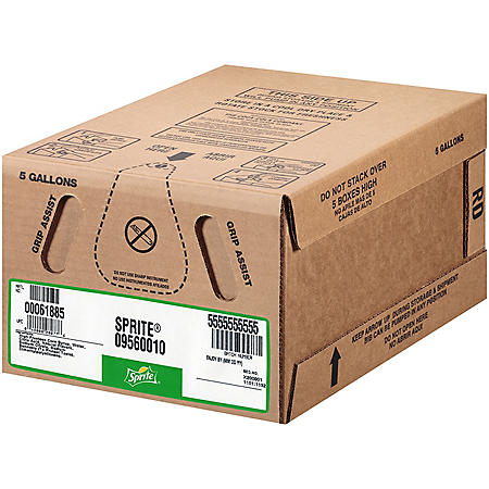 Sprite Bag-In-Box Fountain Syrup (5 gal.)