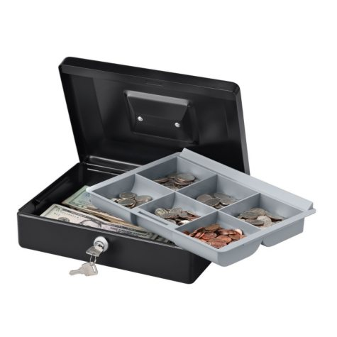 SentrySafe - Cash Box Key Lock - 10 in.