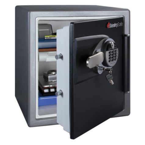 SentrySafe - Fire Safe, Fingerprint Lock - 1.2 Cubic Feet