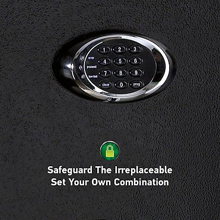 SentrySafe EF3428E Fireproof Safe and Waterproof Safe with Digital Keypad 3.4 Cubic Feet