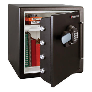 Tire Size Code >> SentrySafe - Electronic Fire Safe - 1.2 Cubic Feet - Sam's Club