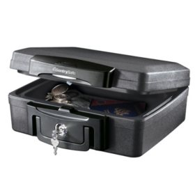 SentrySafe 1200 Fireproof Box with Key Lock 0.18 cu ft
