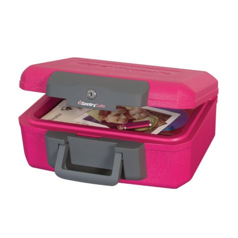 SentrySafe - Fire Safe Chest - Pink