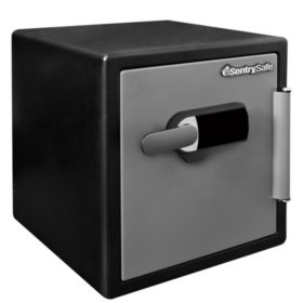 SentrySafe SFW123TTC Fireproof Safe and Waterproof Safe with Touch Screen 1.23 Cubic Feet
