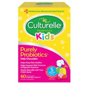 Culturelle Kids Daily Probiotic Chewable (60 ct.)
