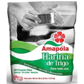 Amapola Harina de Trigo (5 lb.)