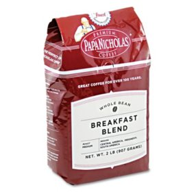 PapaNicholas Breakfast Blend - Whole Bean-2 lbs