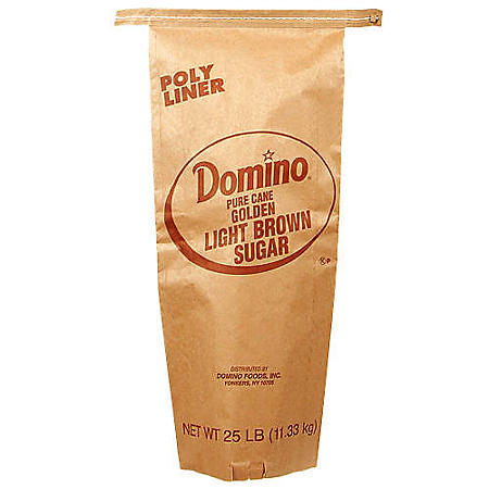 Domino Light Brown Sugar (25 lb.)