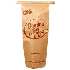 Domino Light Brown Sugar - 25 lb. Bag