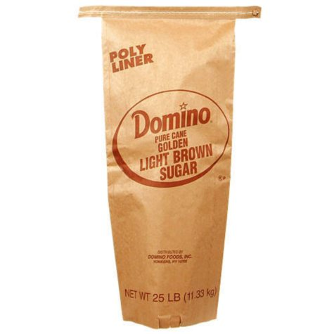 Domino Light Brown Sugar - 25 lb. Bag