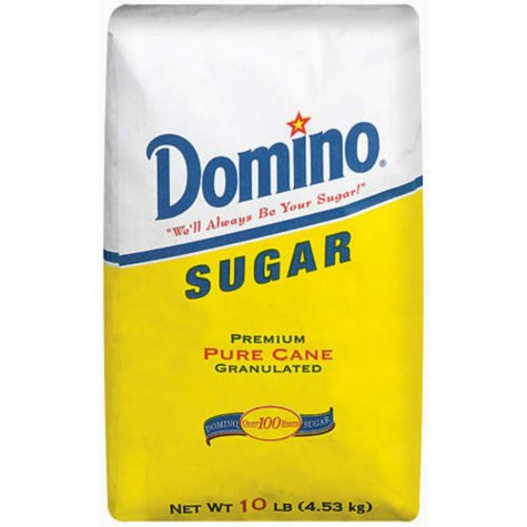 Domino Sugar, Pure Cane, Granulated (10 lb.)