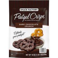 Snack Factory Pretzel Crisps, Dark Chocolate Crunch (18 oz.)