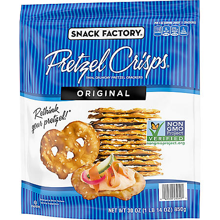 Snack Factory Pretzel Crisps Original (30 oz.)