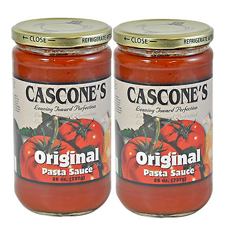 Cascone's Original Pasta Sauce - 2/26 oz