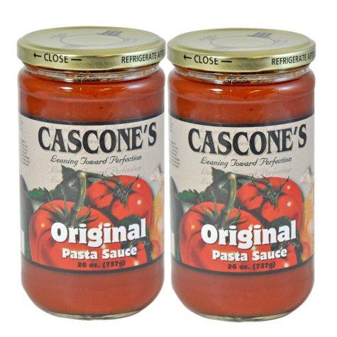 Cascone's Original Pasta Sauce - 2/26 oz