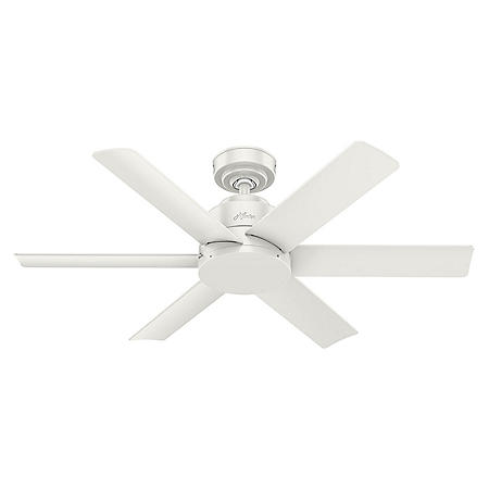 """Hunter 44"""" Kennicott Damp-Rated Ceiling Fan with Wall Control"""