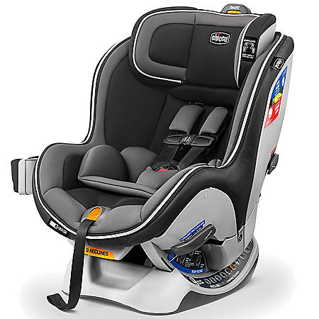 Chicco NextFit Zip Convertible Car Seat, Carbon