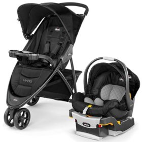 Chicco Viaro Travel System, Black