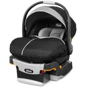 Chicco KeyFit 30 Zip Infant Car Seat, Black