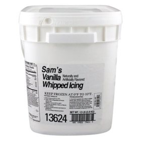 Vanilla Whipped Icing, Bulk Wholesale Case (13 lbs.)