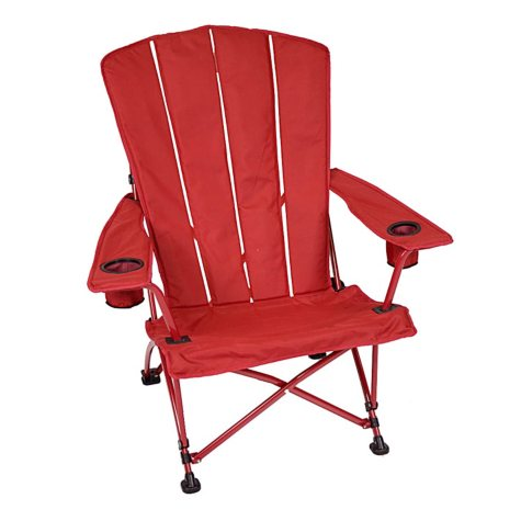 Foldable Adirondack Chair - Red