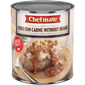 Chef-mate Chili Con Carne Without Beans (106 oz.)