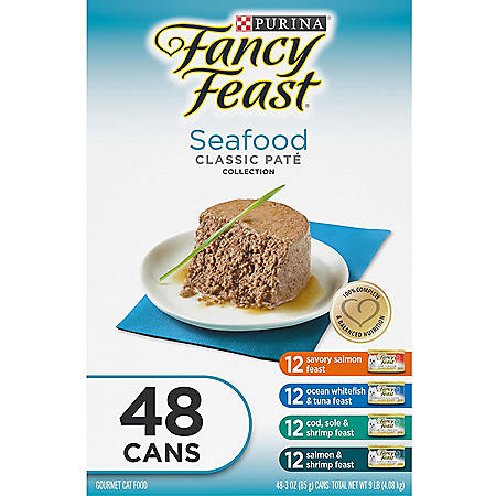 Fancy Feast Gourmet Collection Cat Food (3 oz., 48 ct.)